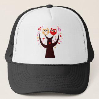 Amazing Love birds colorful on Tree Trucker Hat