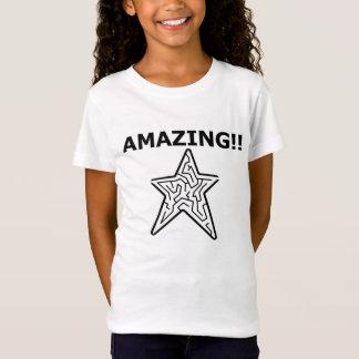 """Amazing"" maze star T T-Shirt"
