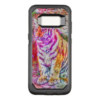 Amazing modified Tiger OtterBox Commuter Samsung Galaxy S8 Case