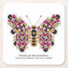 Amazing Monarch Butterfly Quilt Coasters