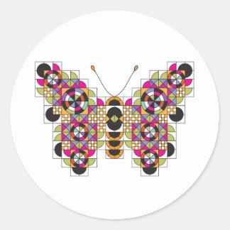 Amazing Monarch Quilt Pattern Sticker