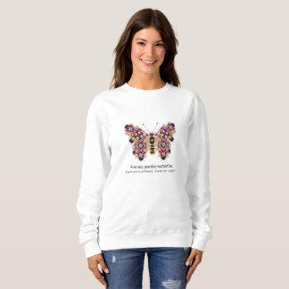 Amazing Monarch Quilt Pattern Sweatshirt