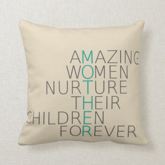 Amazing Mother Throw pillow
