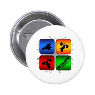 Amazing Motocross Urban Style 2 Inch Round Button