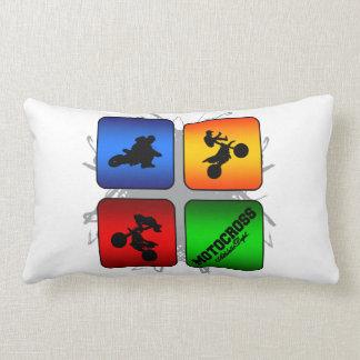 Amazing Motocross Urban Style Lumbar Pillow