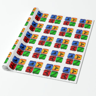 Amazing Motocross Urban Style Wrapping Paper