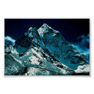 Amazing Mountain Peaks Poster