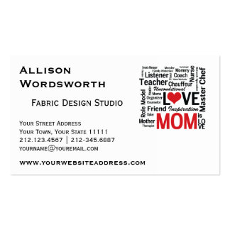 Amazing Multitasking Mom Mother's Day or Birthday Business Card
