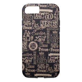 """Amazing Name Of Jesus"" Apple iPhone 7, Case"