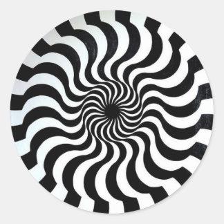 amazing optical illusion sticker
