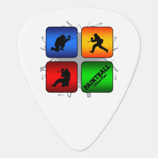 Amazing Paintball Urban Style Guitar Pick