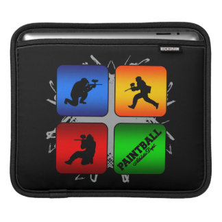Amazing Paintball Urban Style iPad Sleeve