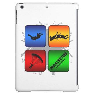 Amazing Parachuting Urban Style iPad Air Cover
