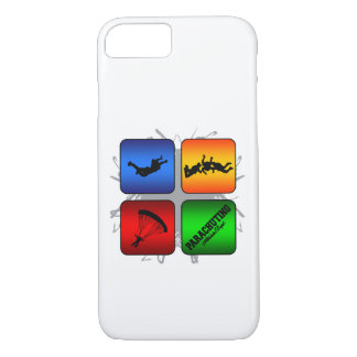 Amazing Parachuting Urban Style iPhone 8/7 Case