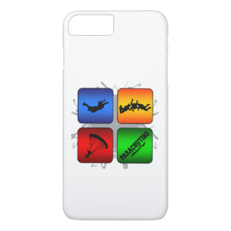 Amazing Parachuting Urban Style iPhone 8 Plus/7 Plus Case