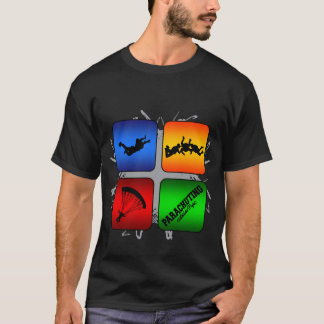 Amazing Parachuting Urban Style T-Shirt