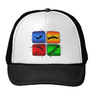 Amazing Parachuting Urban Style Trucker Hat