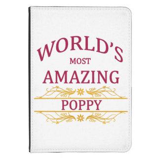 Amazing Poppy Kindle Touch Case