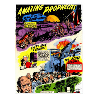 Amazing Prophecies Postcard