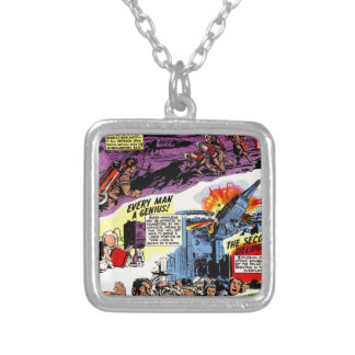 Amazing Prophecies Silver Plated Necklace