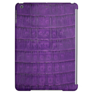 Amazing Purple Gator Print iPad Air Case