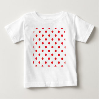 Amazing red dots on white baby T-Shirt