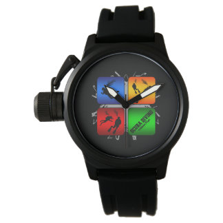 Amazing Scuba Diving Urban Style Wristwatches