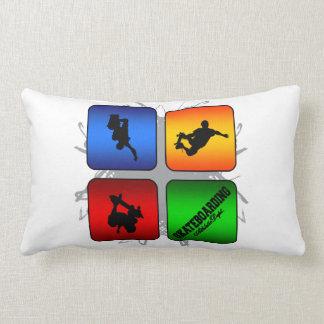 Amazing Skateboarding Urban Style Lumbar Pillow