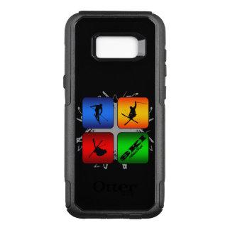 Amazing Ski Urban Style OtterBox Commuter Samsung Galaxy S8+ Case