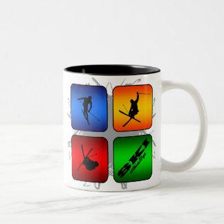 Skier Coffee Travel Mugs Zazzle Canada