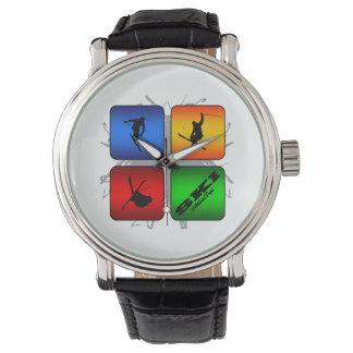 Amazing Ski Urban Style Wrist Watches