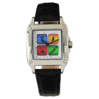 Amazing Ski Urban Style Wristwatch