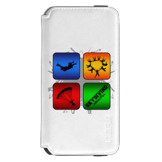 Amazing Skydiving Urban Style Incipio Watson™ iPhone 6 Wallet Case