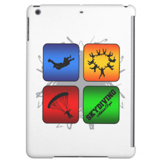 Amazing Skydiving Urban Style iPad Air Covers
