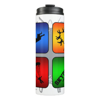 Amazing Skydiving Urban Style Thermal Tumbler