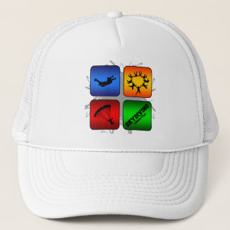 Amazing Skydiving Urban Style Trucker Hat