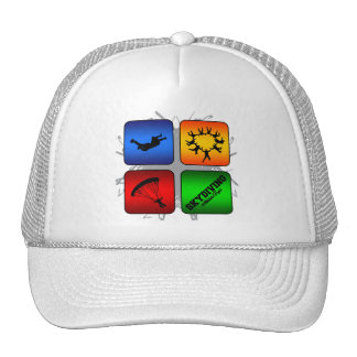 Amazing Skydiving Urban Style Trucker Hat