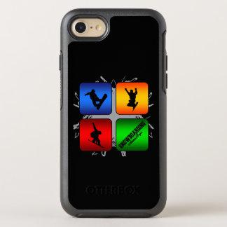Amazing Snowboarding Urban Style OtterBox Symmetry iPhone 8/7 Case
