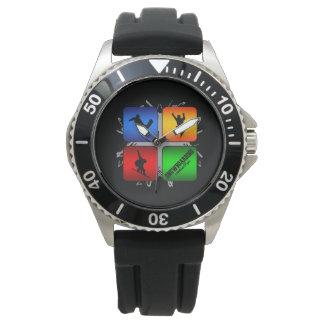 Amazing Snowboarding Urban Style Wrist Watch