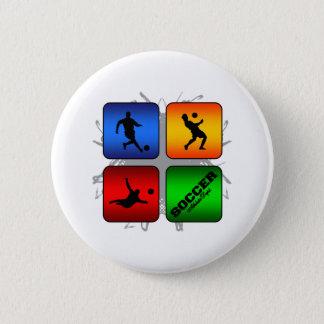 Amazing Soccer Urban Style 2 Inch Round Button