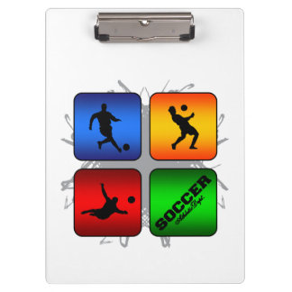 Amazing Soccer Urban Style Clipboard
