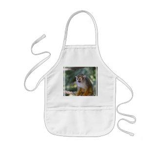 Amazing Squirrel Monkey Kids Apron