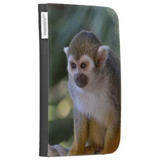 Amazing Squirrel Monkey Kindle Folio Case