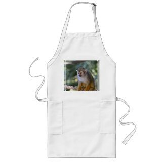 Amazing Squirrel Monkey Long Apron