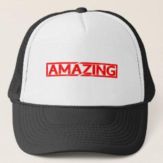 Amazing Stamp Trucker Hat
