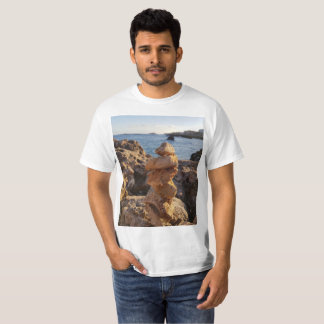 amazing stone file  by the sea T-Shirt