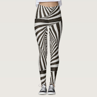 Amazing striped leggings yoga pants