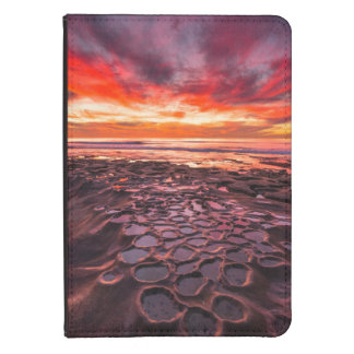 Amazing sunset at the tide pools  2 kindle touch case