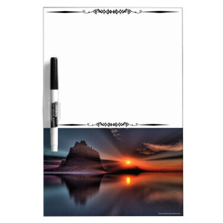 Amazing Sunset Dry Erase Board White Board