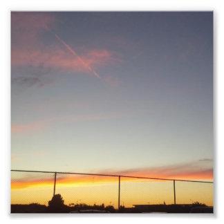 Amazing Sunset in California Photo Print